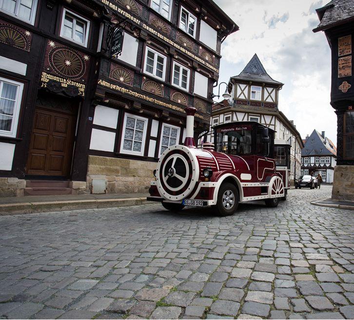 Start Goslarer Bimmelbahn